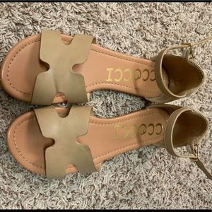 Tan sandals from VICI
